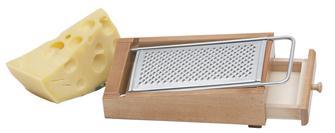 Râpe à parmesan sur support bois