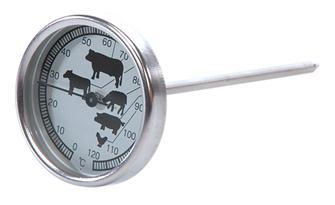 Thermomètre de cuisson à sonde et cadran jusqu´à 120°C