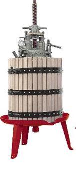 Pressoir hydraulique à vis centrale 96 litres