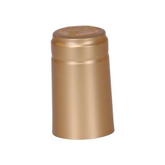 Capsules thermorétractables dorées