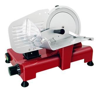 Trancheuse électrique 195 mm rouge CE pro