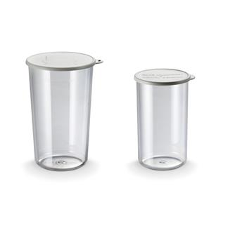 Set de 2 gobelets Bamix 400 et 600 ml