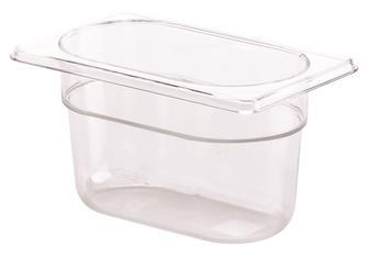 Bac gastro sans BPA GN 1/9 h. 10 cm en copolyester