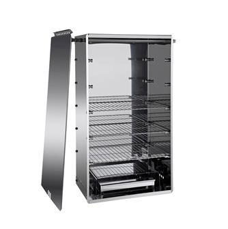 Fumoir inox grand modèle horizontal/vertical polyvalent Tom Press