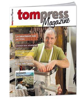 Tom Press Magazine octobre - novembre 2015