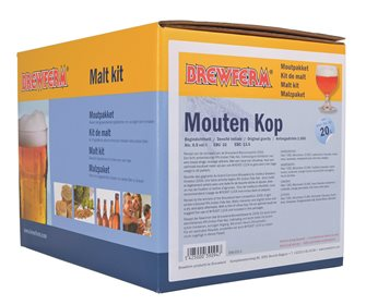 Kit malt Mouten kop pour 20 litres de bière