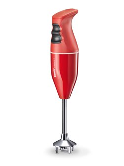 Mixeur plongeur Bamix premier prix 120 W Pop rouge