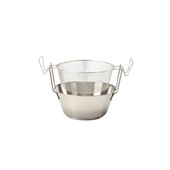 Friteuse 20 cm inox compatible induction