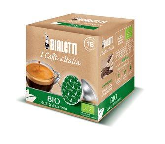Boîte de 16 capsules café Bialetti Bio