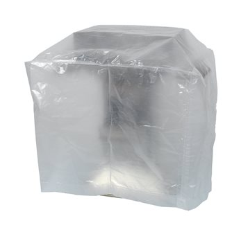Housse transparente grand barbecue rectangulaire 130x70 cm