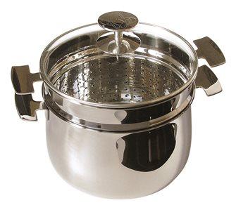 Cuiseur à riz Baumstal inox induction 20 cm