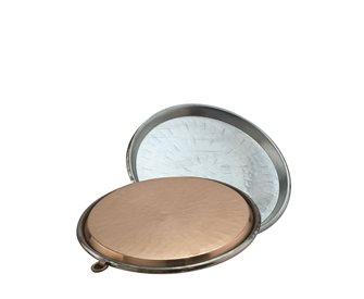 Plat à socca en cuivre 32 cm