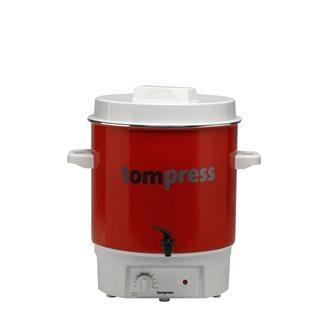 Stérilisateur émaillé électrique à robinet Tom Press pince à bocaux OFFERTE