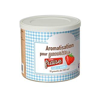Aromatisation pour yaourtière parfum fraise