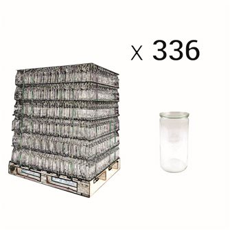 Bocal Weck 1,5 litre spécial asperges par palette de 336