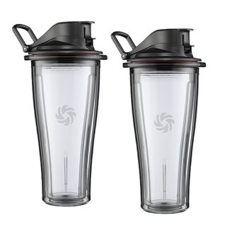 2 bols de 600 ml avec couvercle pour power blender Vitamix Ascent 2500