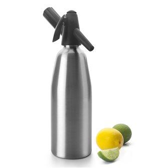 Siphon à soda et eau de Seltz 0,8 l en aluminium