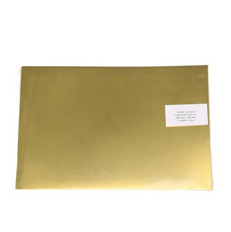Plaques de glu dorées