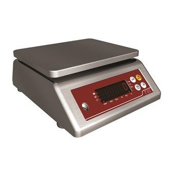 Balance compacte à plateau tout inox de 0,20 g à 15 kg